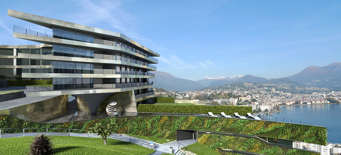 Nizza Paradise Residence between nature and architecture