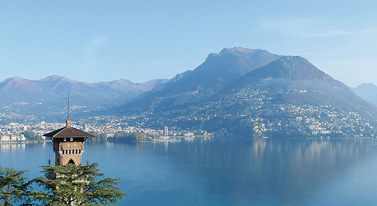 landscape high-quality life in Lugano
