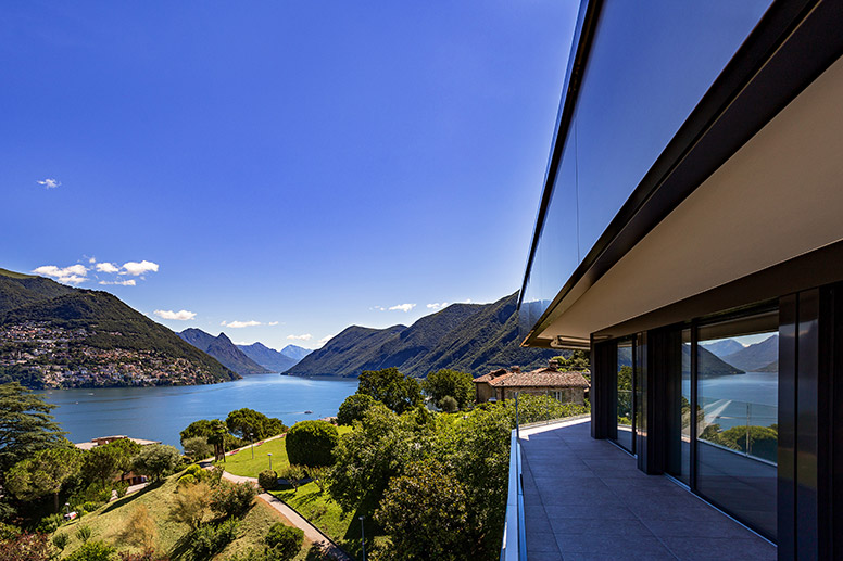 Living in Lugano view guidino park Residence