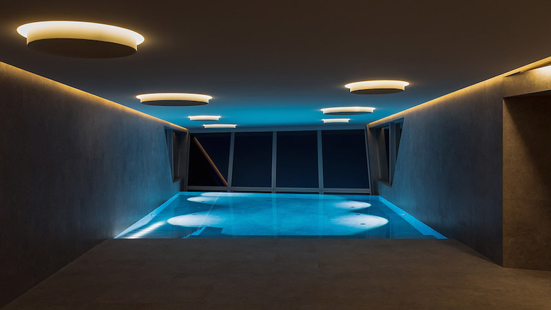 special swimming pool in your house spa