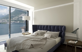 Light interior design bedroom