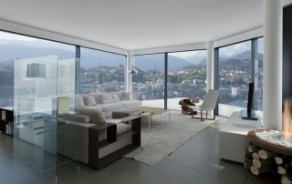 buying a swiss property lugano glass