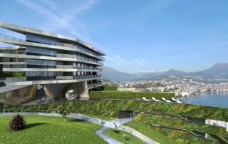 luxury villas in switzerland render