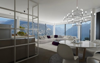 white living room lugano paradiso